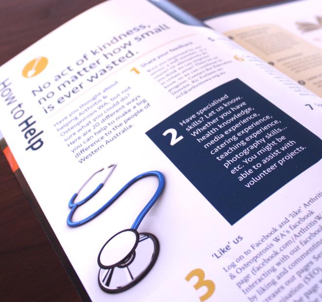 Arthritis-Perth-Graphic-Newsletter-Design