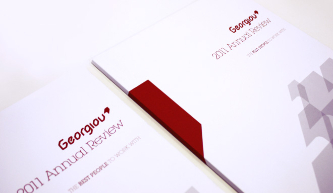 Georgiou-Print-Design-Annual-Report