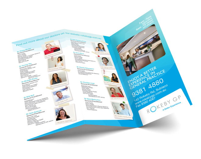 RGP Brochure  Design Perth