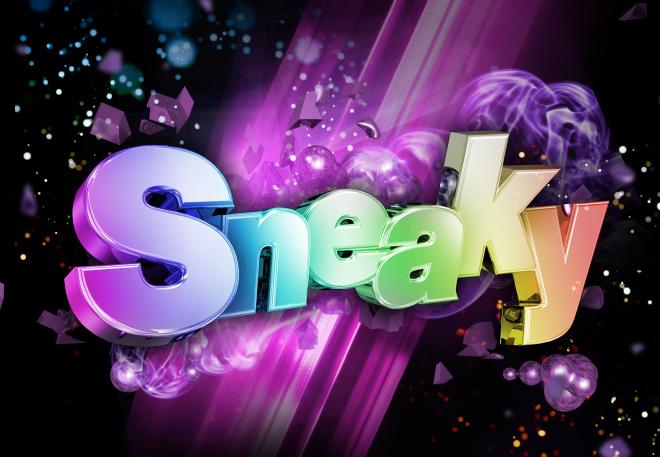 Sneaky-3d-Logo-Design