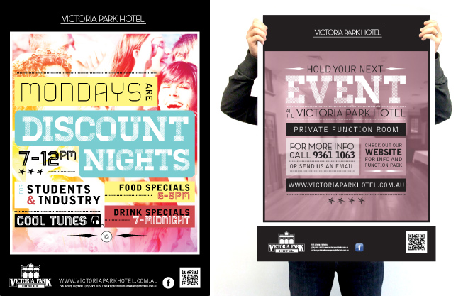 Monday night discount nights and Event Function Poster Design for Perth Pub in Victoria Park